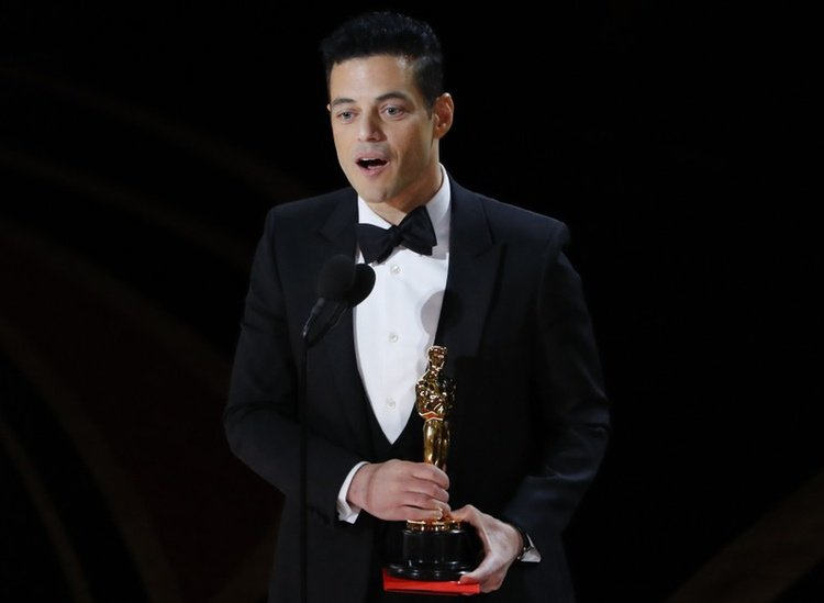 Image result for rami malek oscar 750