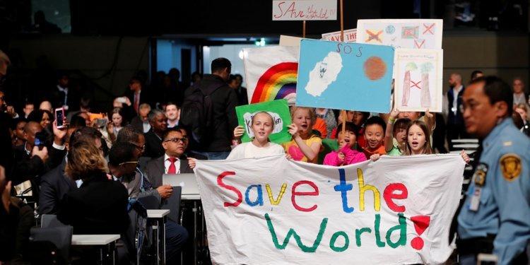 Image result for Kids protest on climate change 750