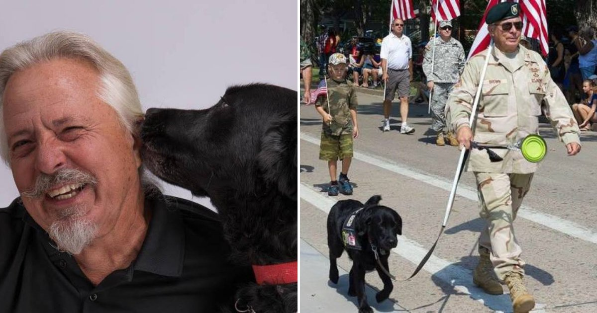 arthur.png?resize=1200,630 - Army Veteran Kicked Out Of Restaurant After Staff Says His Service Dog Is Not Allowed To Stay