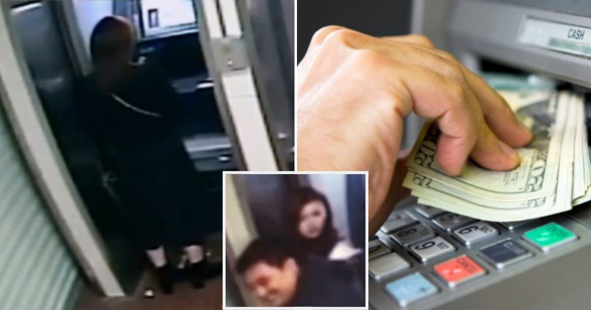 atm5.png?resize=1200,630 - Robber Robs Woman At ATM, After Seeing Her Bank Balance, He Returns Money And Smiles