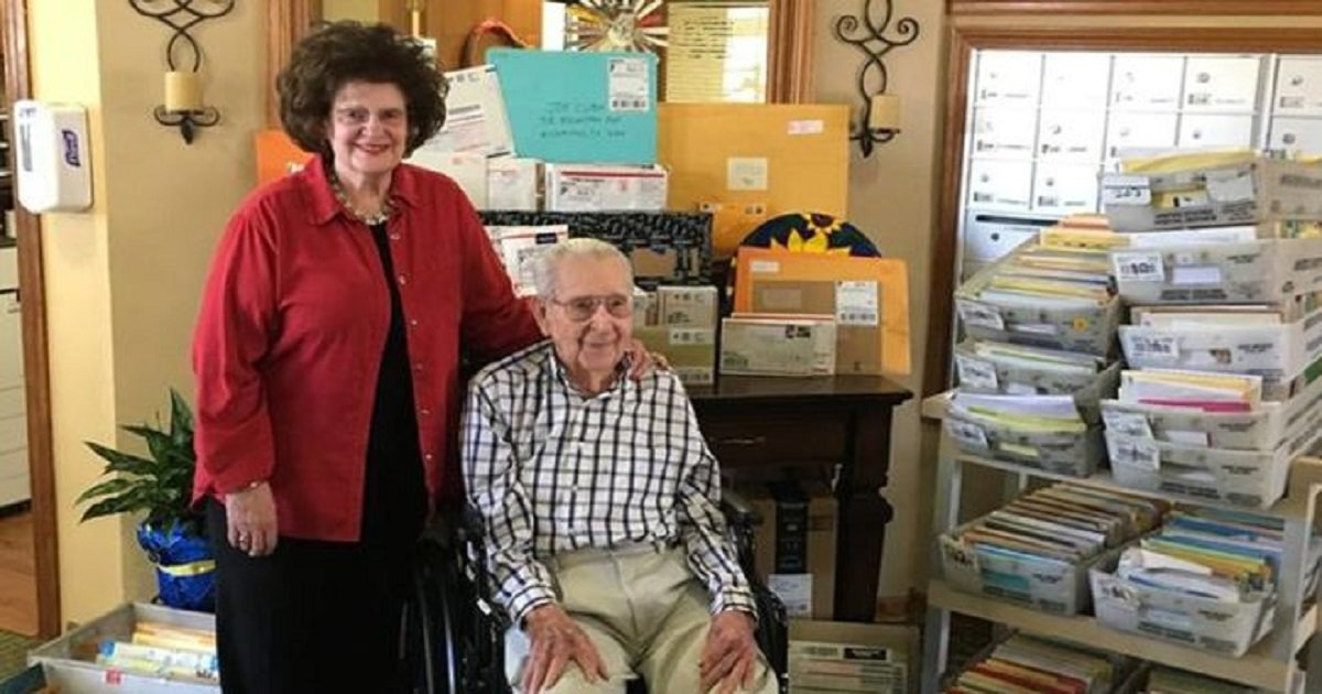 b3.jpg?resize=412,232 - World War Two Veteran Makes Appeal For Birthday Cards On His 100th Birthday And The World Responds Beautifully