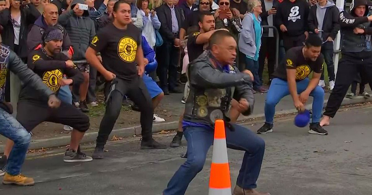 christchurch massacre.jpg?resize=1200,630 - Black Power Gang Performed An Emotional Haka To Pay Tribute To The Christchurch Massacre Victims