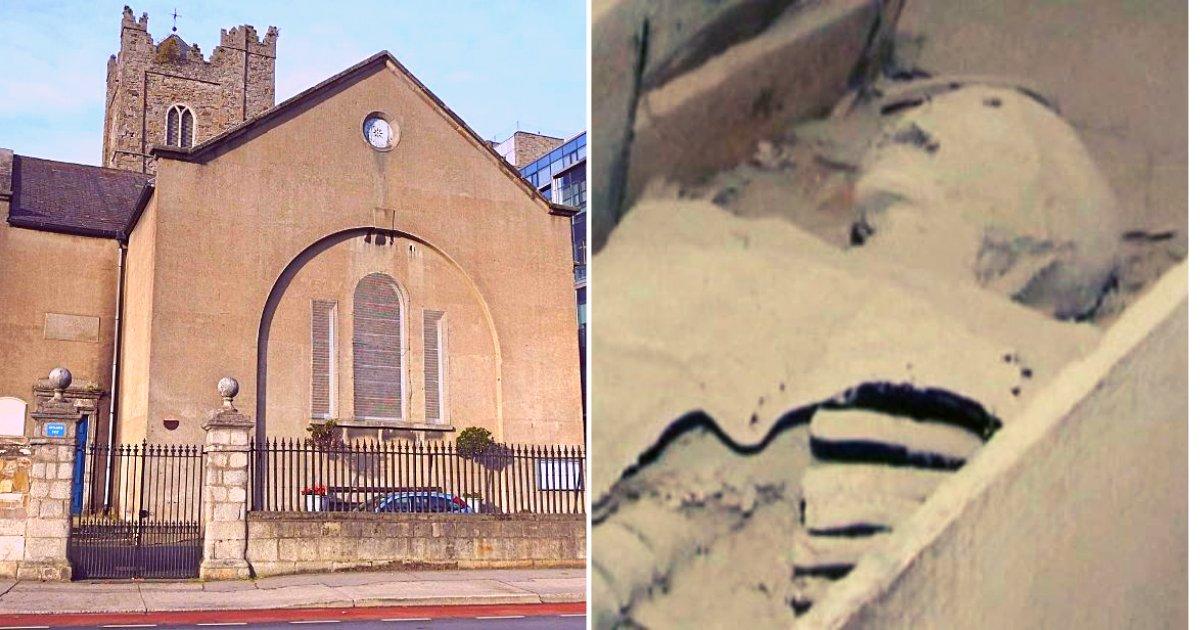 church2 1.png?resize=1200,630 - Un croisé de 800 ans a été vandalisé dans la crypte d'une église