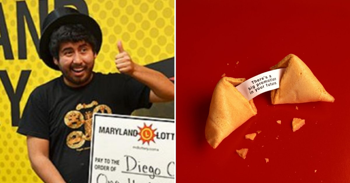 cookie3.png?resize=412,232 - Fortune Cookie Said It Was His Lucky Day, He Bought Lottery Ticket And Won The Jackpot