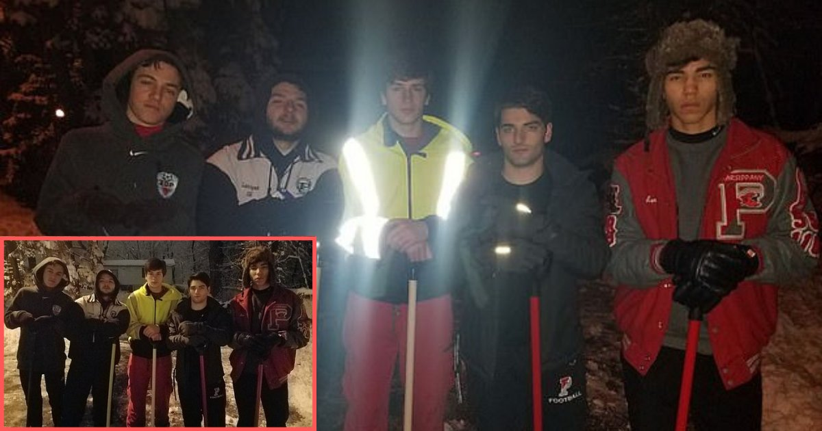 d2 4.png?resize=412,232 - New Jersey High School Seniors Shoveled at 4:30 am in The Morning to Get a Neighbor to the Hospital for her Dialysis