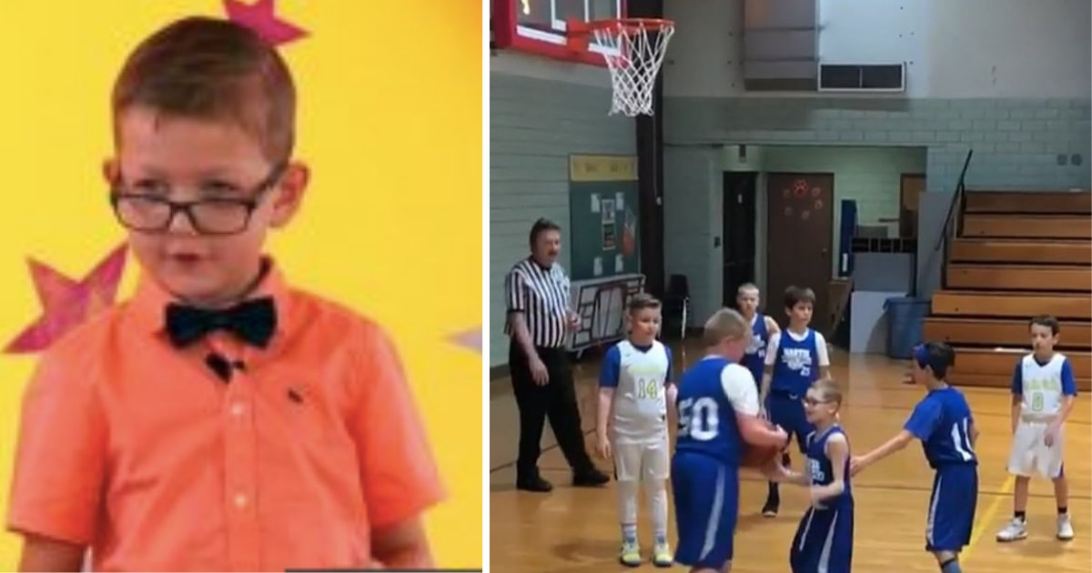 d5 12.png?resize=1200,630 - Mother Films Her Son With Cerebral Palsy Scoring a Basket With the Help of the Teammates