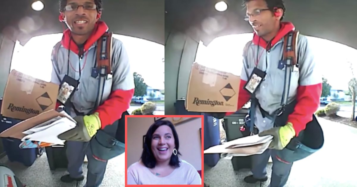 d5 17.png?resize=1200,630 - The Internet is Going Crazy Over the Caring Postal Worker Who was Captured on Doorbell Cam