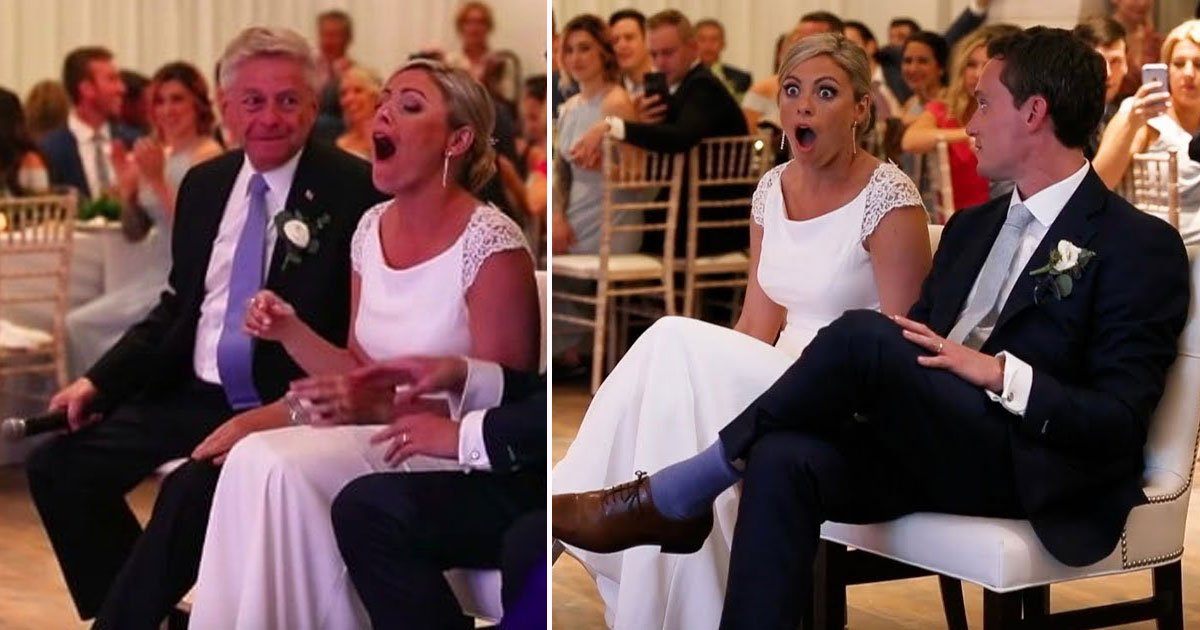 dad daughter aeriel jodi.jpg?resize=412,275 - Dad Asks Daughter 'What Is Your Favorite Movie?' At Her Wedding - What Happens Next Leaves The Bride Stunned