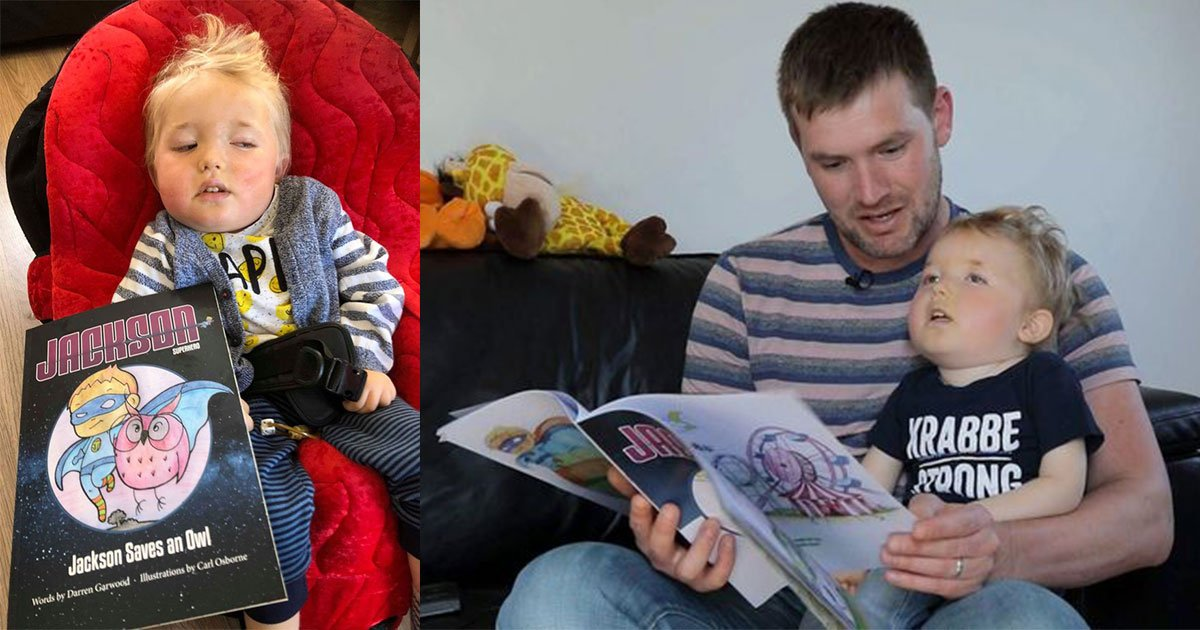 dad turns dying son into fictional superhero to ensure he was never forgotten.jpg?resize=1200,630 - Dad Turns Dying Son Into Fictional Superhero To Ensure He Was Never Forgotten