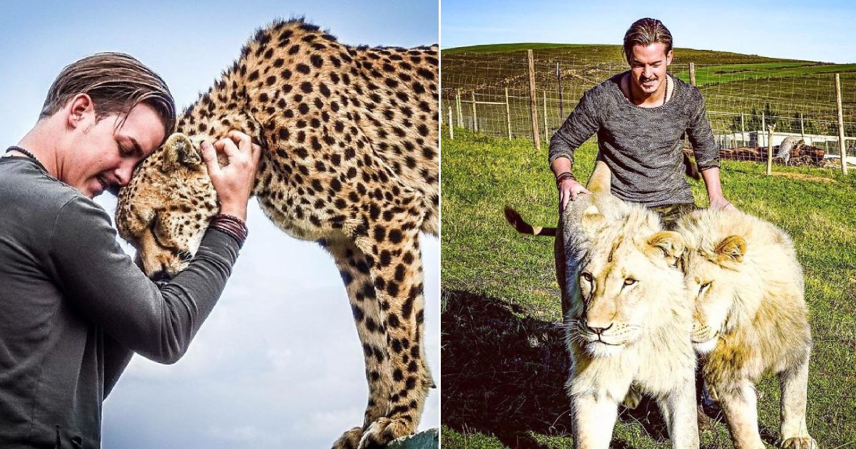 dean schneider.png?resize=412,232 - Man Left Behind His Successful Career And Life To Rescue Injured Animals In Africa
