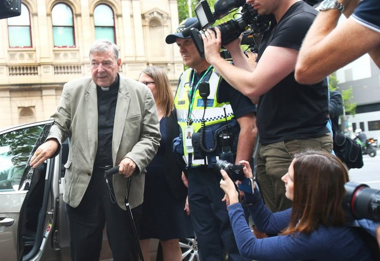 Image result for Disgraced Cardinal George Pell Sent To Jail 750