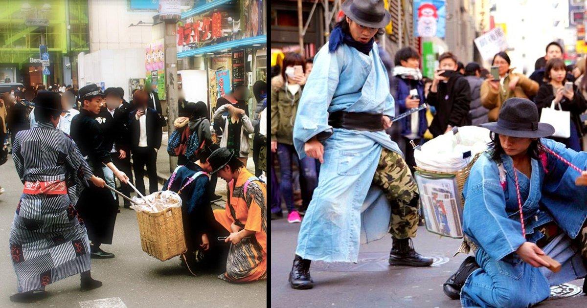 e6b88be8b0b7e381aee8a197e381a7e4be8d ttl 1.jpg?resize=412,232 - 【話題】渋谷の街でなぜ「侍」の姿が…???まさかの素晴らしい光景にネット上ざわつく…!!!