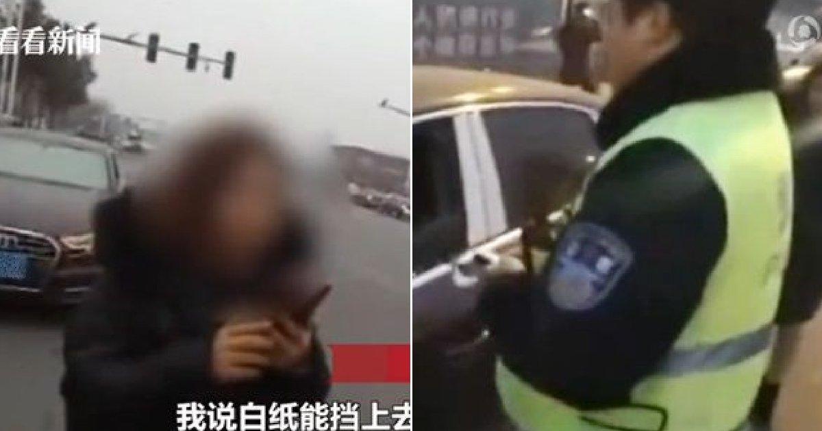 eca09cebaaa9 ec9786ec9d8c 41.png?resize=1200,630 - 중국서 경찰 단속 피하고자 차량 번호판에 '이것' 붙인 황당한 여성