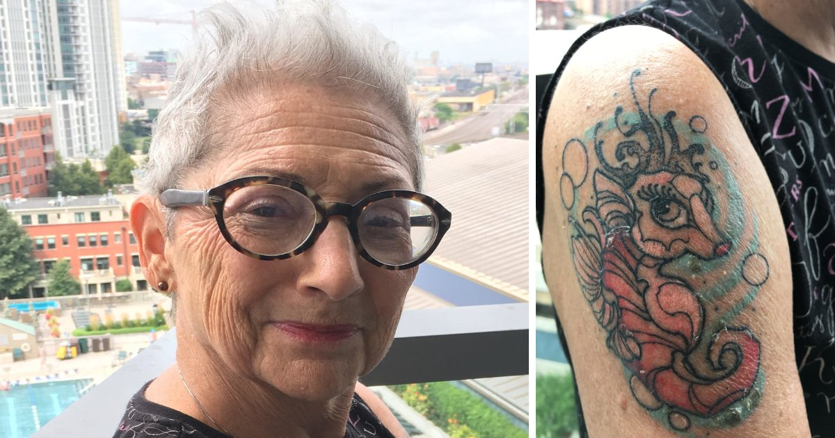 featured image 24.png?resize=1200,630 - Woman Gets A Tattoo Instead Of A Face-Lift For Her 80th Birthday