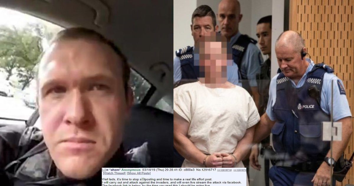 Christchurch Shooter Vowed To Massacre Muslims In His Last Social