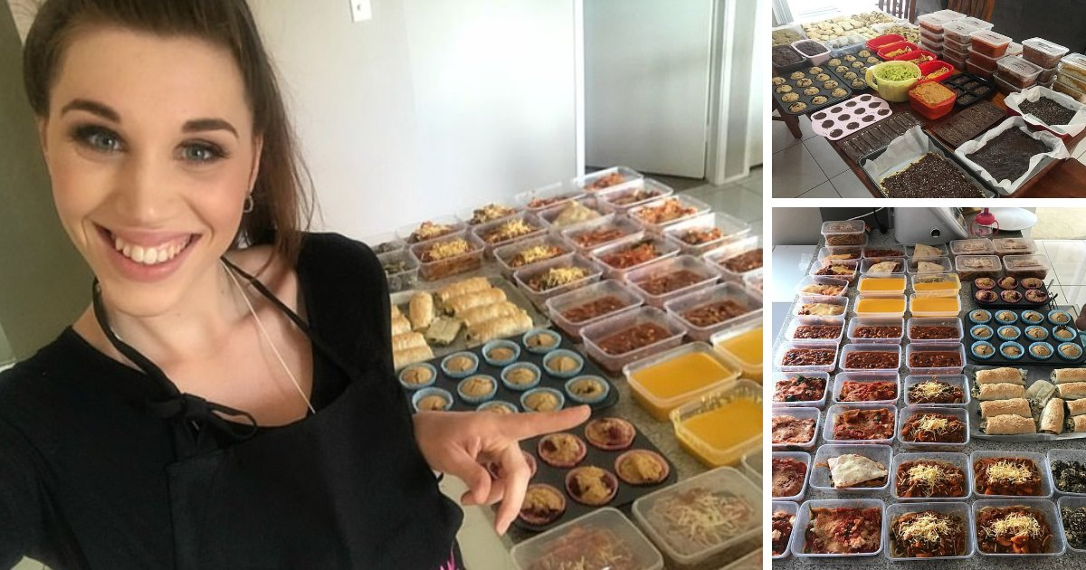featured image 54.png?resize=1200,630 - 37 Weeks Pregnant Mom Prepared 152 Meals And 228 Snacks In Preparation For Baby's Birth