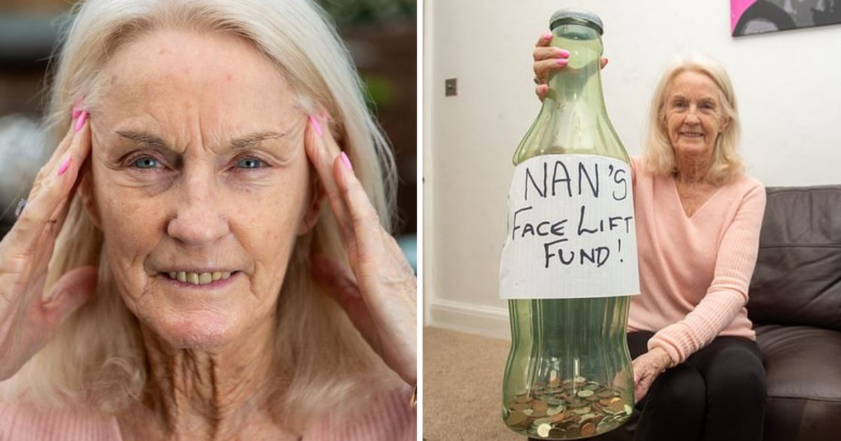 granny6.png?resize=1200,630 - Great Grandmother Spends Years Saving Her Pension For $13K Face Lift