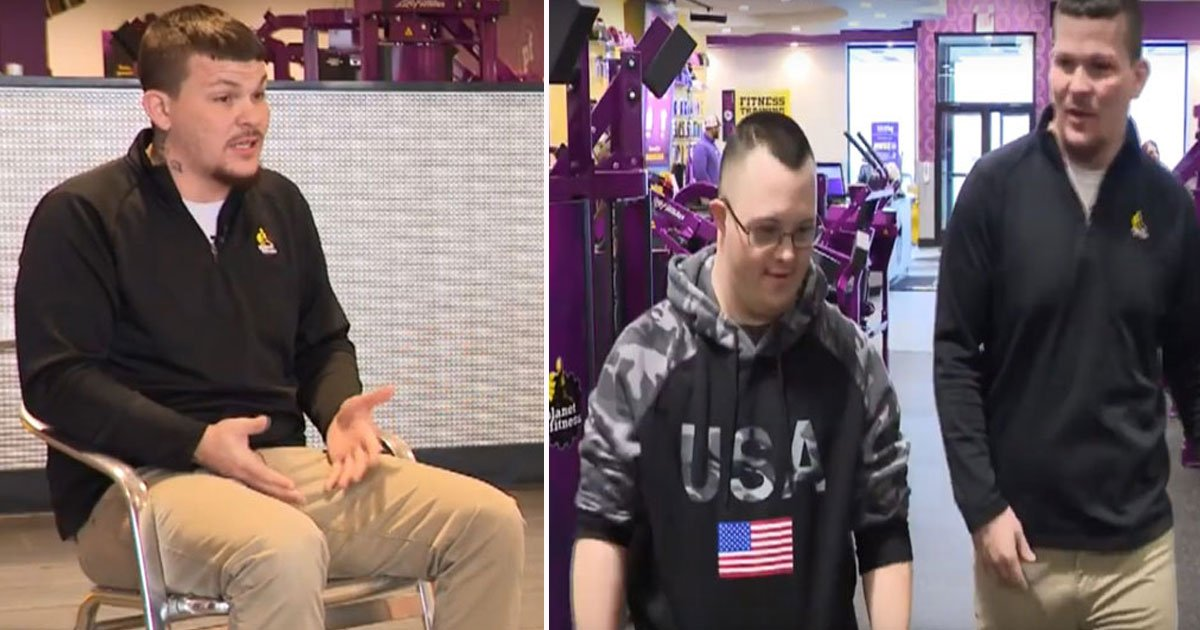 gym manager kind act.jpg?resize=1200,630 - Gym Manager Goes Out Of His Way To Help A Man With Down Syndrome
