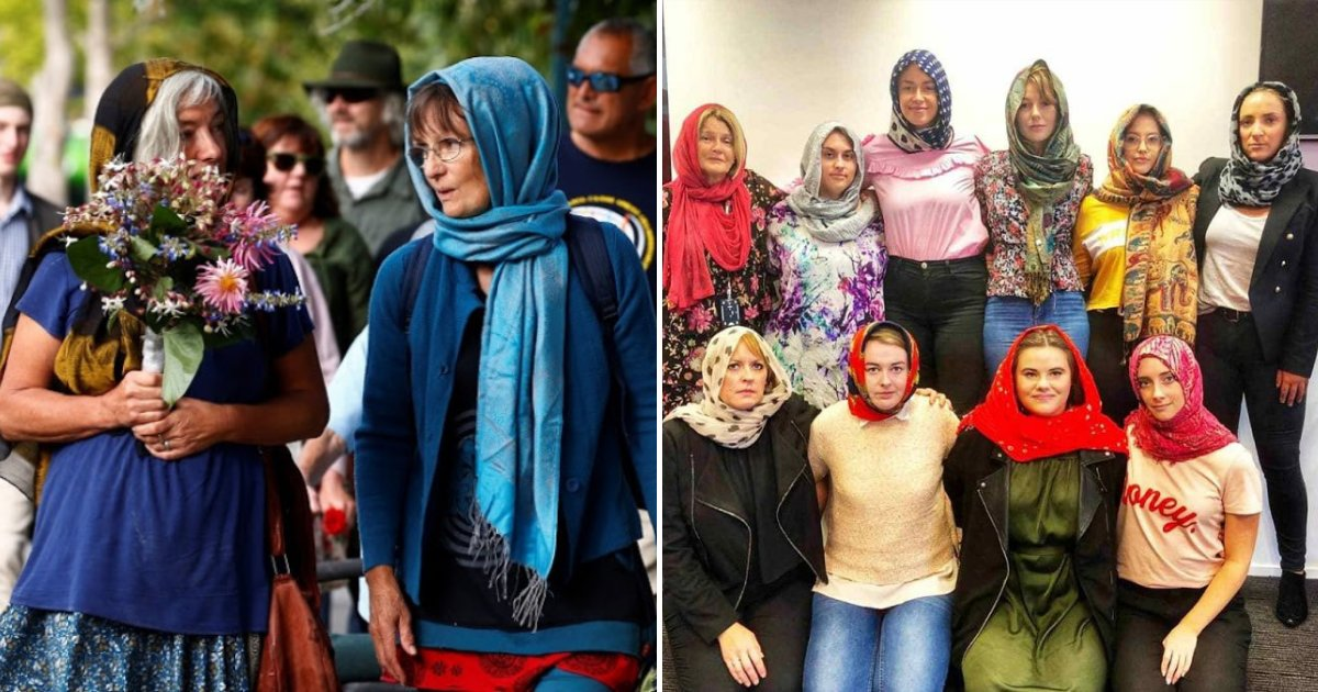 hijab6.png?resize=412,232 - Muslim Campaigners Condemn New Zealand Women For Wearing Hijab In Solidarity With Shooting Victims