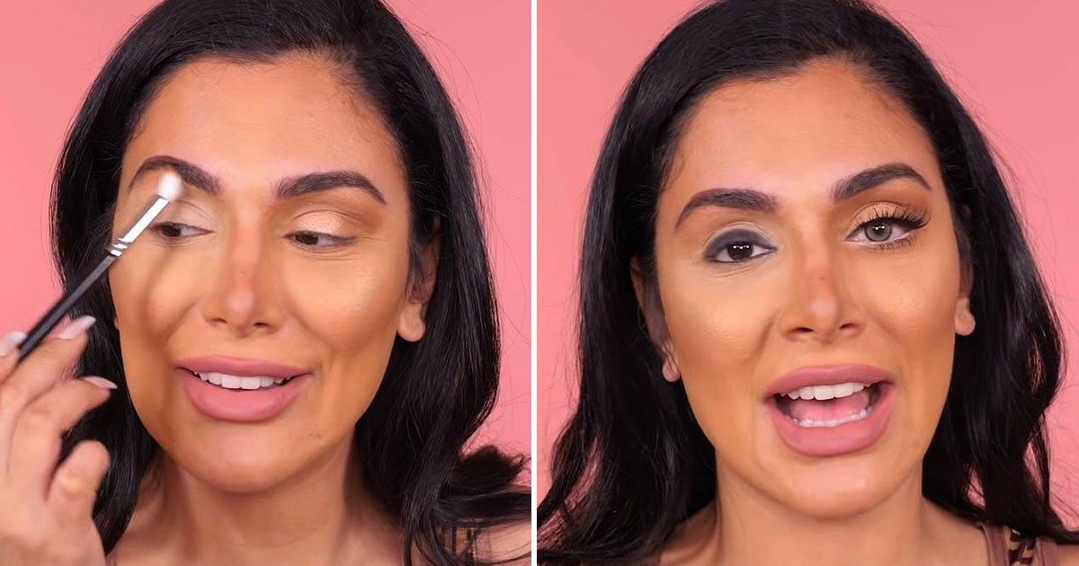 huda beauty tricks eyes bigger.jpg?resize=412,275 - Makeup Artist Huda Kattan Shares Tricks To Make Eyes Look Bigger With Makeup