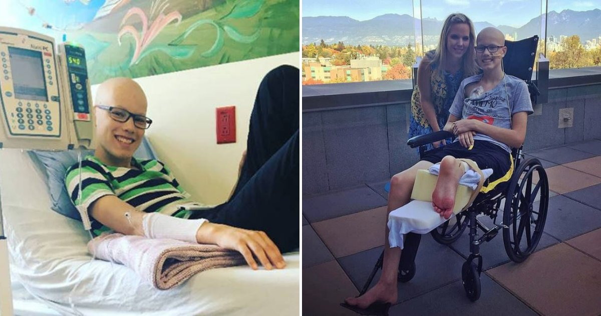 jacob6.png?resize=1200,630 - 14-Year-Old Boy's Foot Attached Backwards To Form New Knee After Surgery