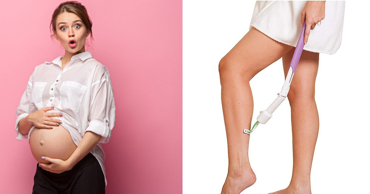 jhjh.jpg?resize=300,169 - Pregnant women are obsessed with this genius gadget that lets them shave the legs without bending down