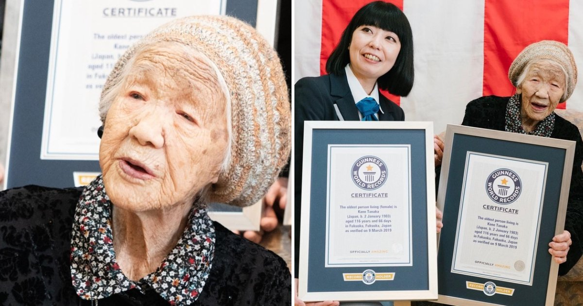 long happy life.png?resize=1200,630 - A 116-Year-Old Woman, Who Is The World's Oldest Person, Shared Her Secrets To A Long And Happy Life