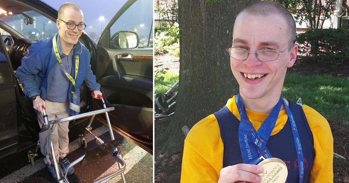 man cerebral palsy may lose job.jpg?resize=412,232 - Man With Cerebral Palsy May Lose His Job Due To Walmart's New Requirement