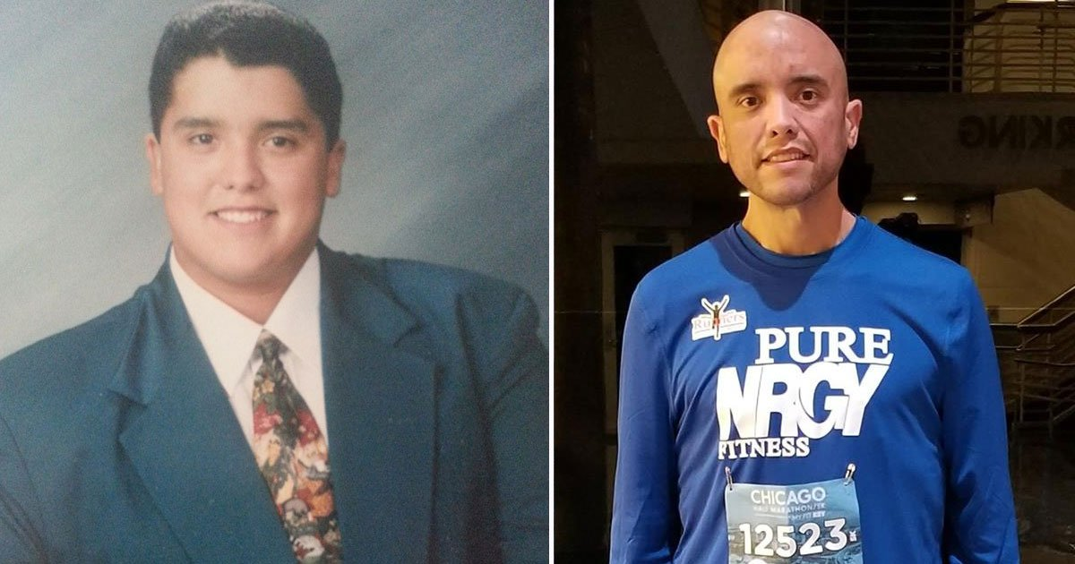 man lost 500 pounds.jpg?resize=412,232 - Man Lost Nearly 500 Pounds - His Transformation Is Incredible