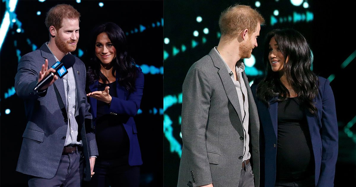 meghan made a surprise appearance as harry took her to stage with him at an event.jpg?resize=1200,630 - Meghan Made A Surprise Appearance As Harry Took Her To Stage With Him At An Event In London