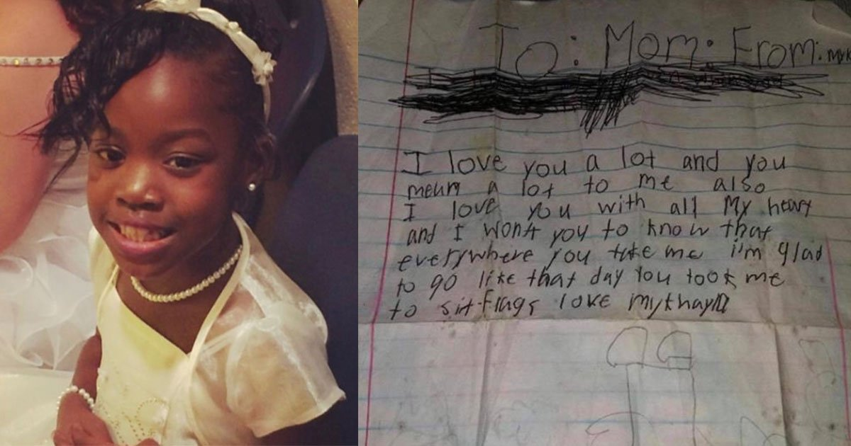 mother lost her daughter and her daughters handwritten letter in the storm and here is what happened next.jpg?resize=1200,630 - Handwritten Letter From 8-Year-Old, A Tornado Victim, Found In Debris And Given Back To The Mother