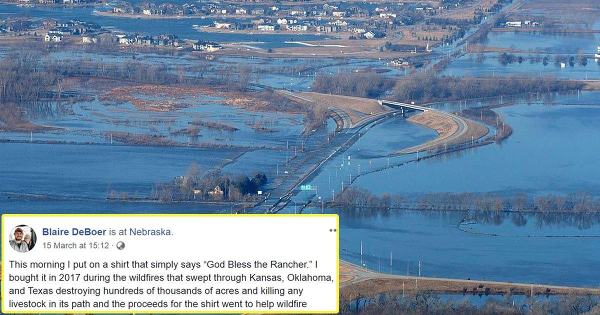 nerbaska floods.jpg?resize=1200,630 - A Woman's Emotional Prayer For Ranchers During Devastating Nebraska Floods Goes Viral