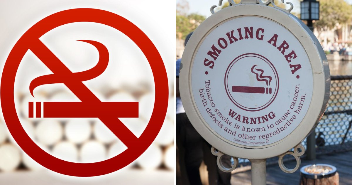 no smoking in disney.png?resize=1200,630 - Disney Banned All Smoking Within Their Theme Parks