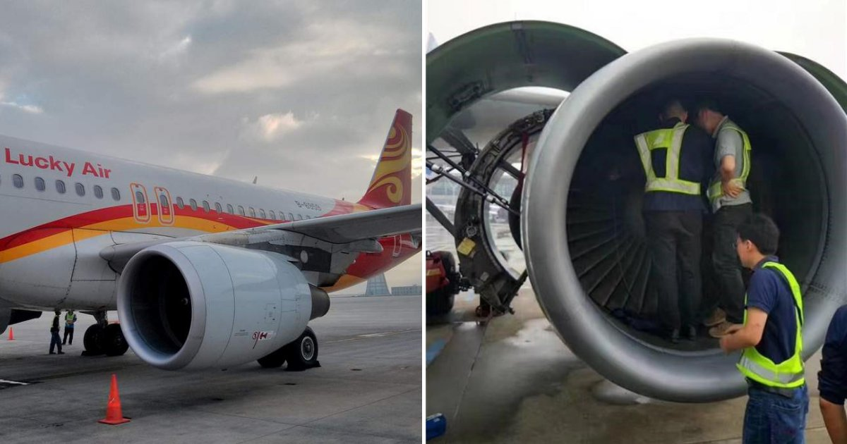 """plane5.png?resize=412,232 - Une compagnie aérienne poursuit un passager après avoir jeté des pièces dans un moteur d'avion pour """"avoir de la chance"""""""