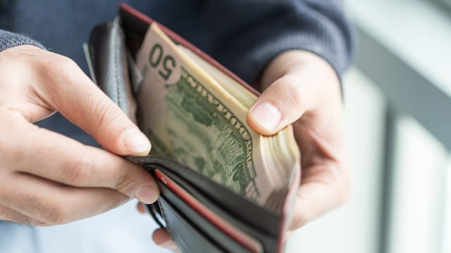 Image result for lost wallet money