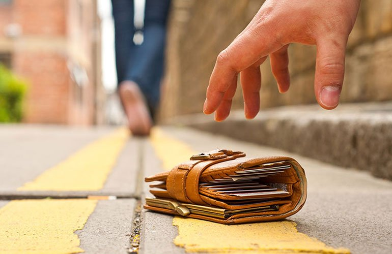 Image result for lost wallet