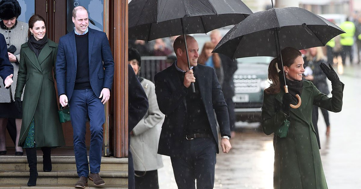 prince william and kate arrived in blackpool to visit a series of new projects.jpg?resize=1200,630 - Prince William And Kate Middleton Arrived In Blackpool To Visit A Series Of New Projects