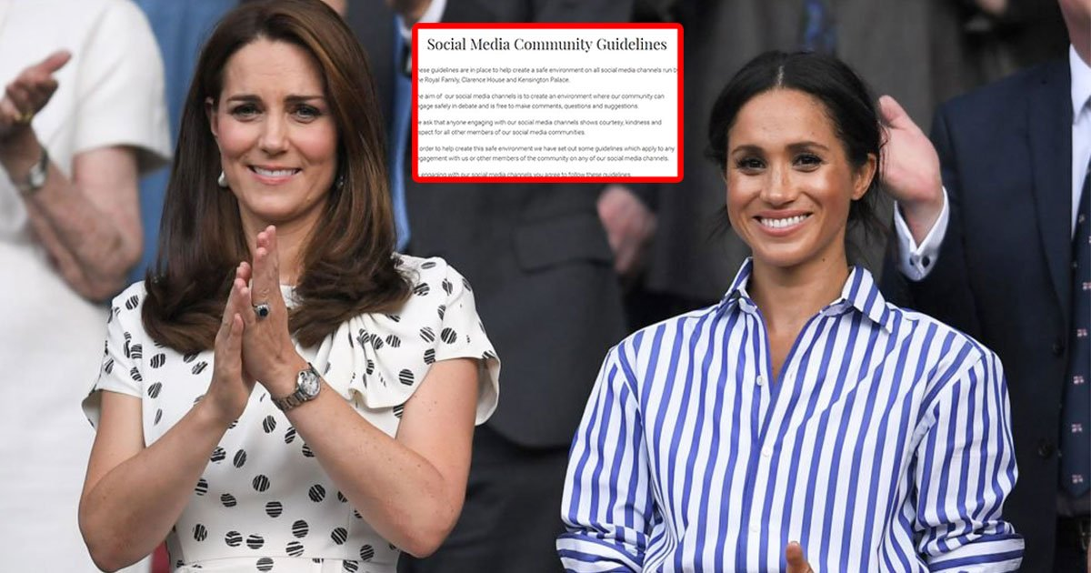 royal aides warned abusive comments targeting kate middleton meghan markle could be reported to police.jpg?resize=1200,630 - Royal Aides Warned Abusive Comments Targeting Kate Middleton Meghan Markle Could Be Reported To Police
