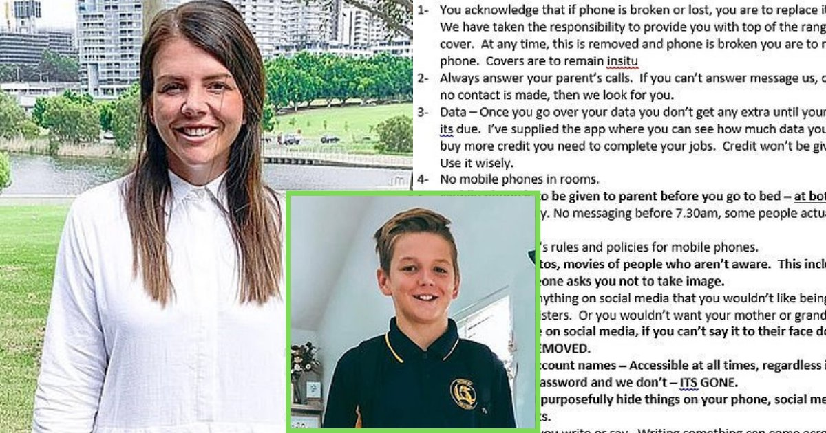 rules2.png?resize=1200,630 - Mother Shares 17-Rule Mobile Phone Contract She Made For Her 12-Year-Old Son