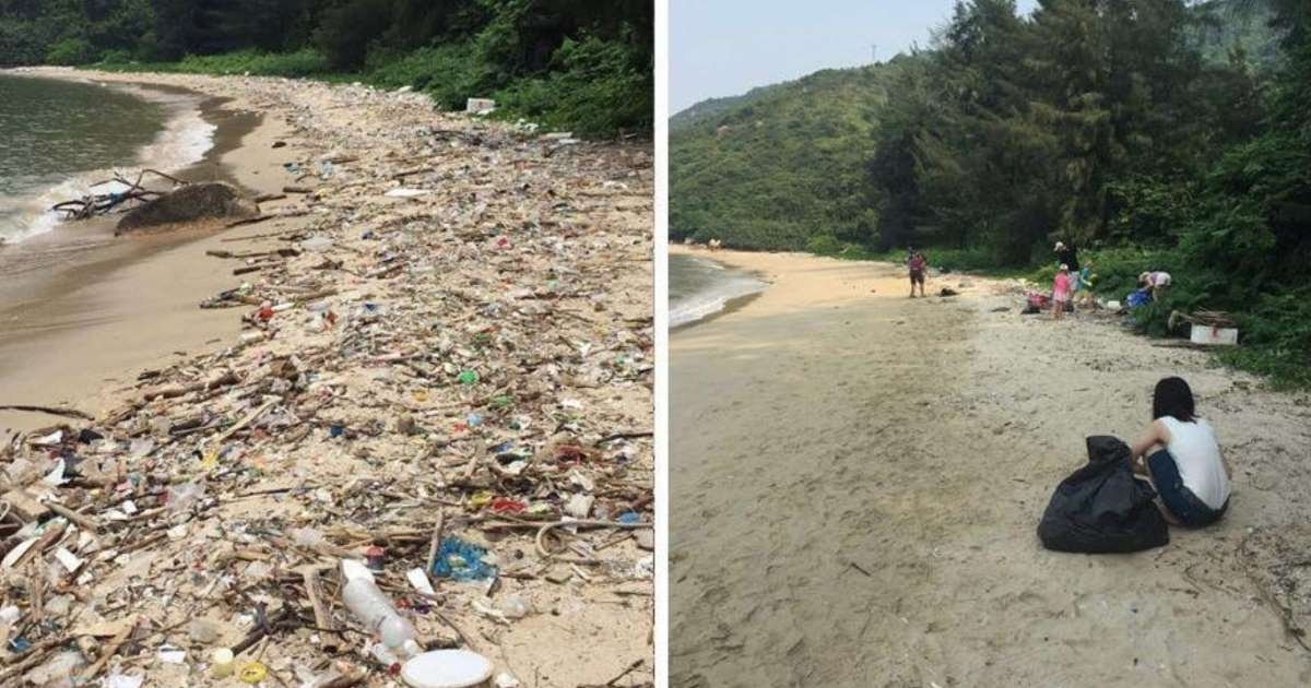 s 58.jpg?resize=412,232 - New 'Trashtag' Challenge Goes Viral As People Share Before/After Pics Of Their Cleanup Around The World