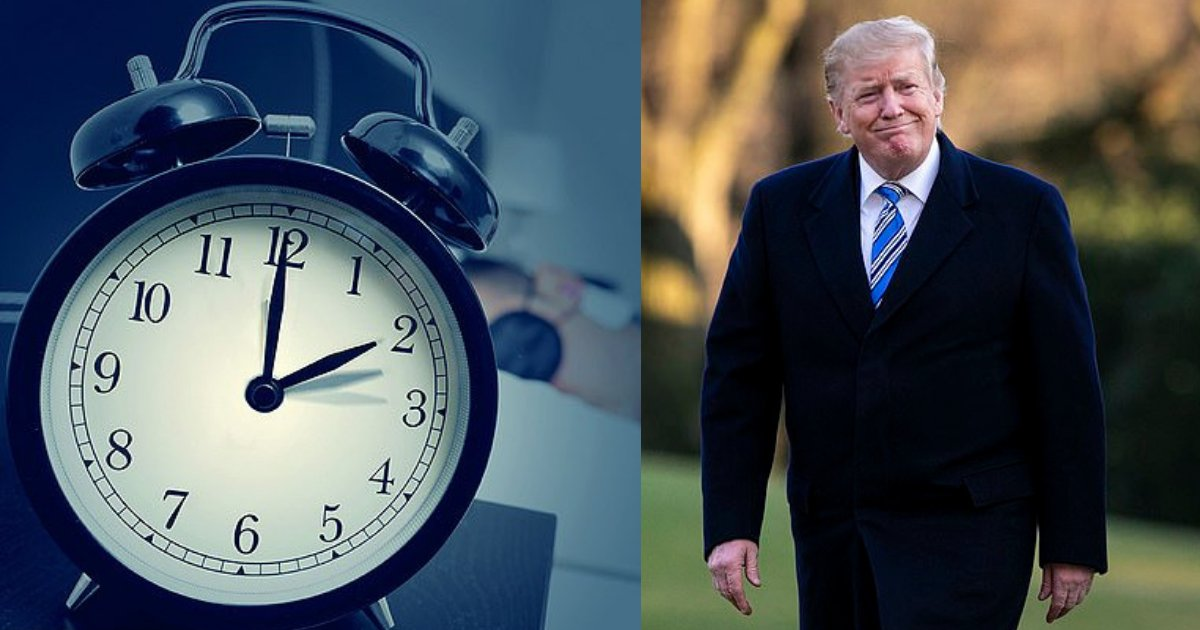 s1 7.png?resize=412,275 - I Have No Problem Making Day Light Savings Time Permanent, Says President Donald Trump