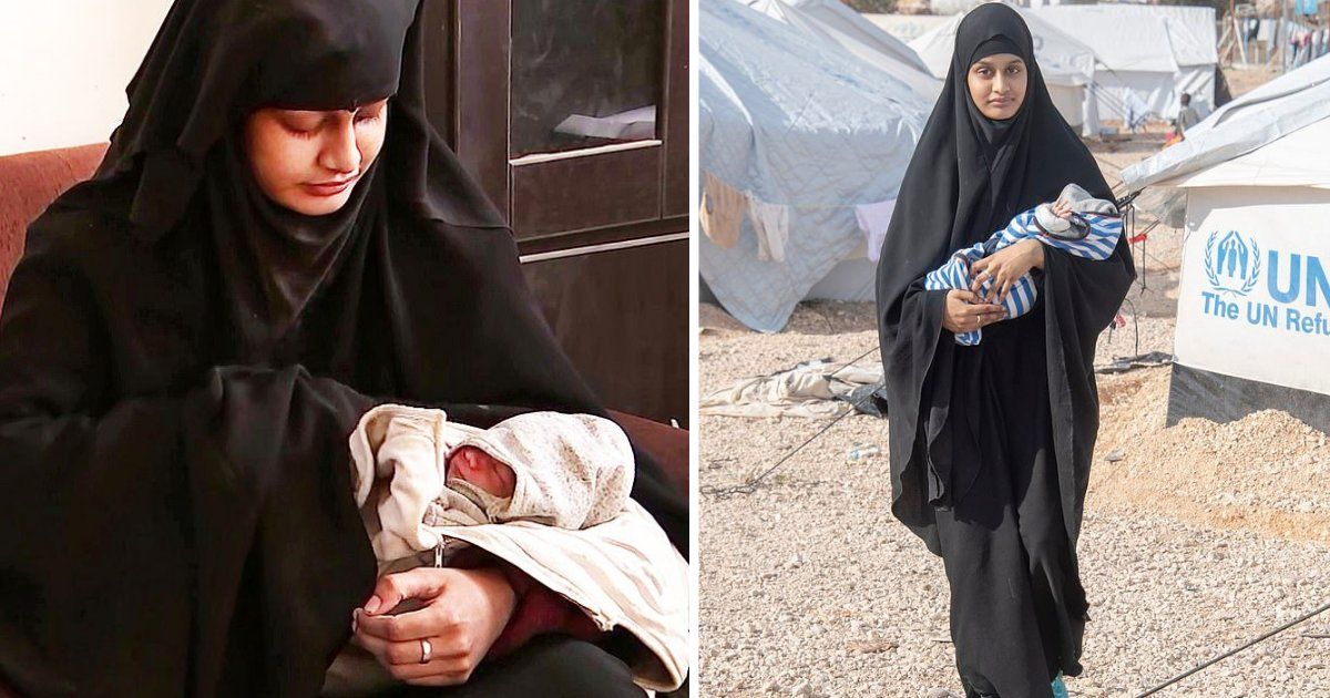 s3 6.png?resize=1200,630 - Shamima Begum's 3 Week Old Son Has Passed Due to Sickness