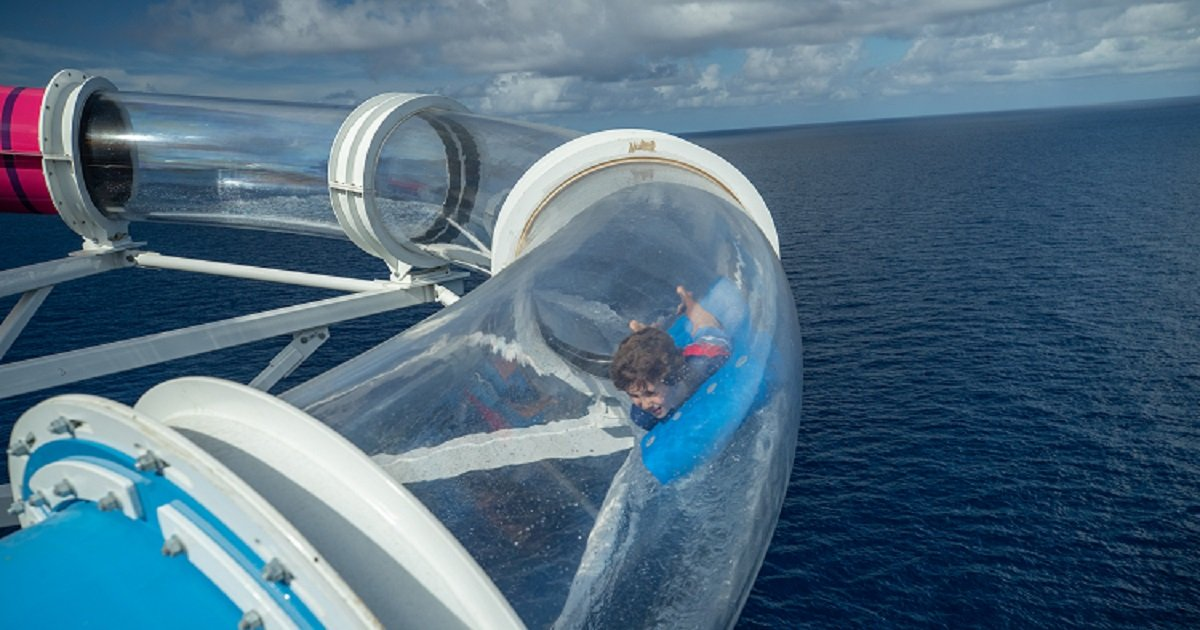 s3 7.jpg?resize=412,232 - World's Longest Water Slide At Sea Will Literally Send You Over The Ship's Edge