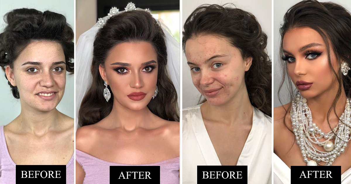 sdfssss.jpg?resize=1200,630 - Makeup Artist Shares Before And After Photos Of Brides And It Will Leave You With Open Mouth