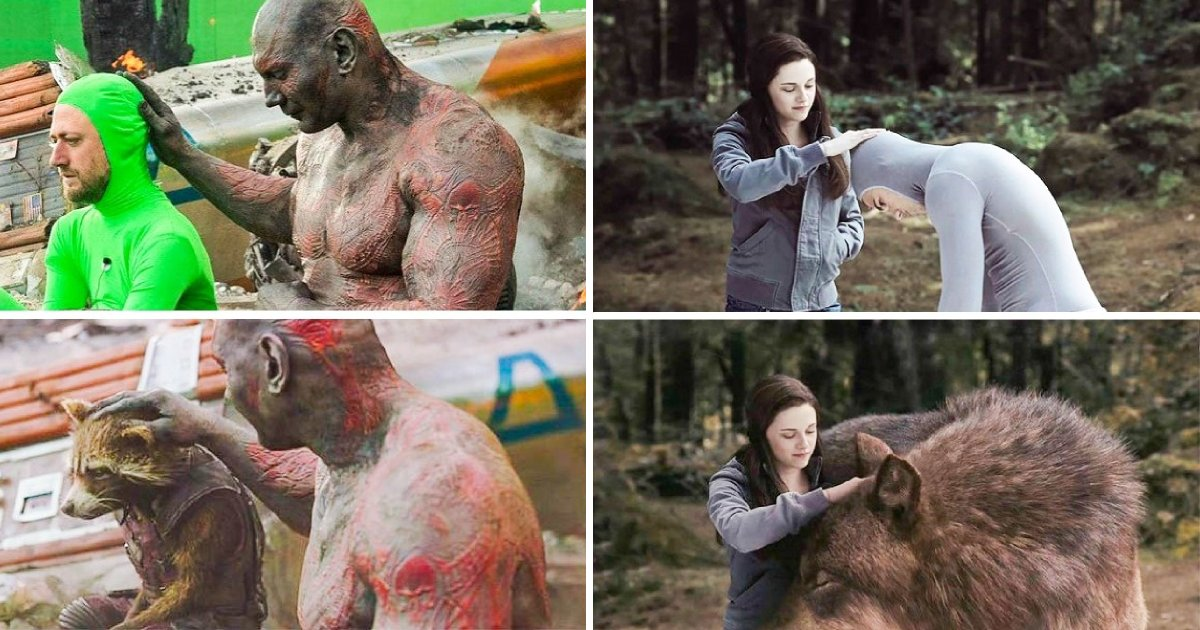 What Movies Look Like Before And After The Special Effects - Small Joys
