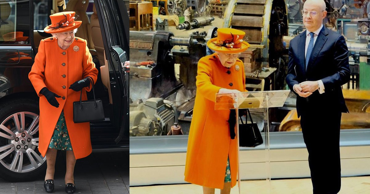 the queen shares her first instagram post during a visit to londons science museum.jpg?resize=412,232 - The Queen Shares Her First Instagram Post During A Visit To London's Science Museum