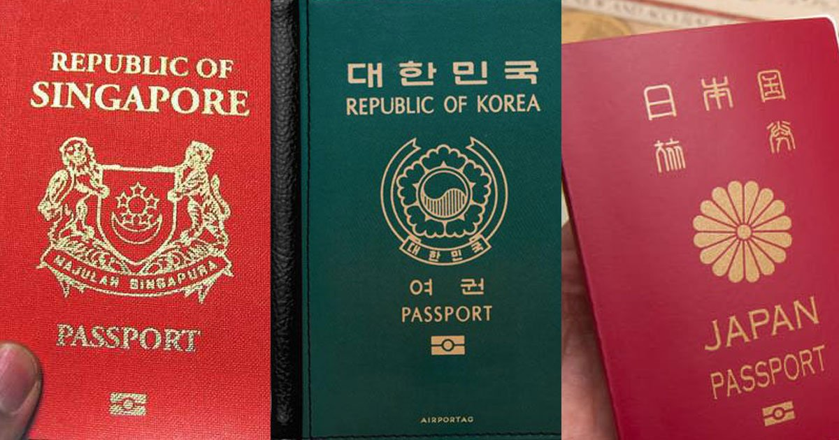 the worlds most powerful passports include japan singapore and south korea.jpg?resize=412,232 - World's Most Powerful Passports