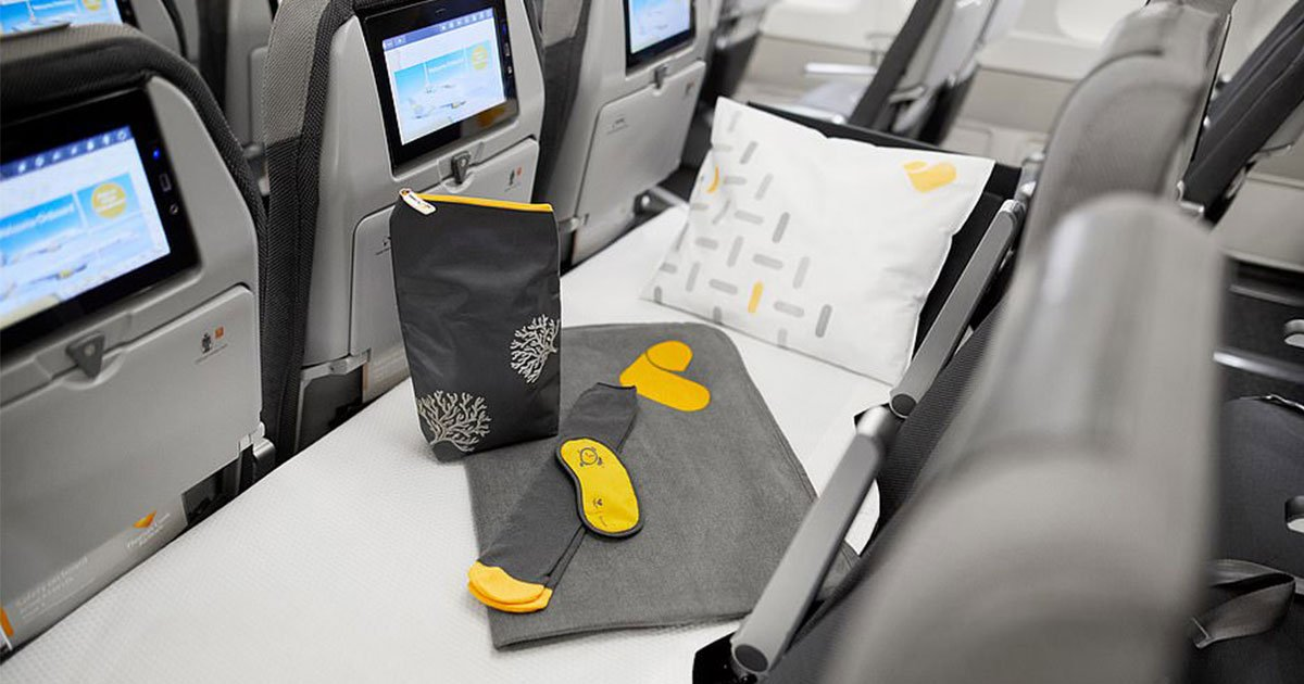 thomas cook launches lie flat seats in economy and it is cheaper than three separate economy tickets.jpg?resize=1200,630 - Airline Launches 'Lie-flat Seats' In Economy And It Is Cheaper Than Three Separate Economy Tickets