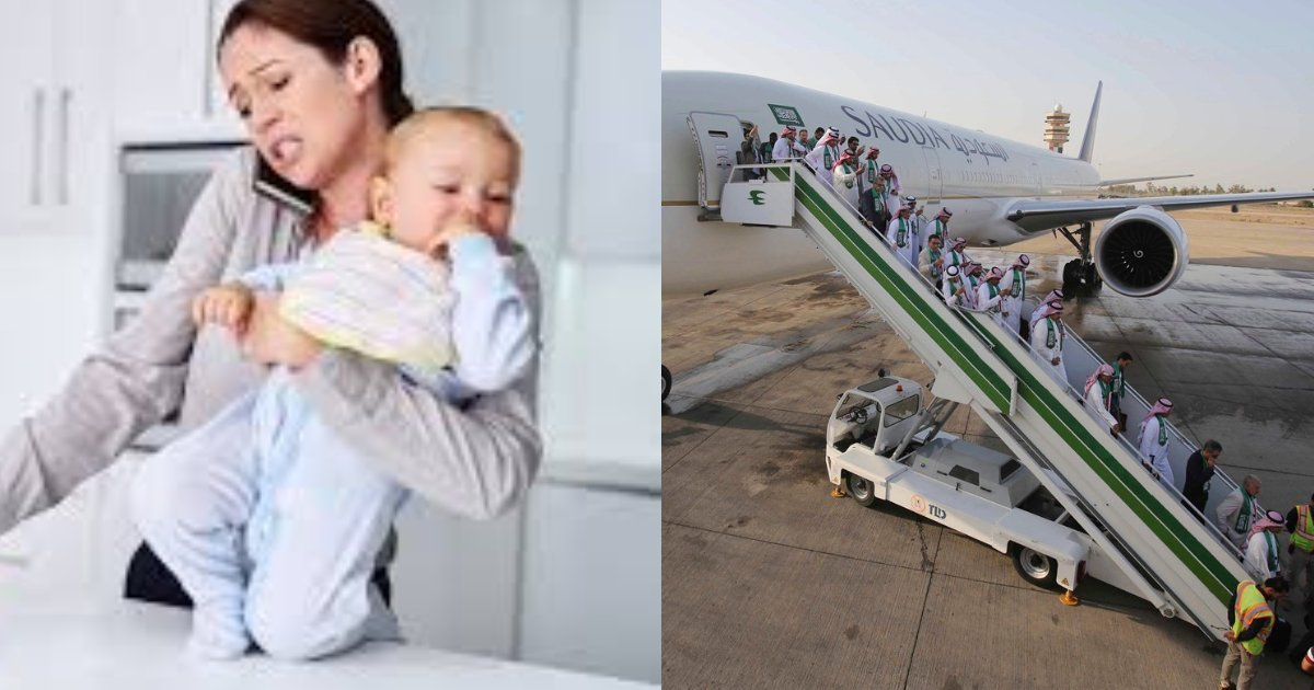 thumbnail.png?resize=1200,630 - Airplane Forced To Turn Around After A Mother Left Her Baby At The Airport