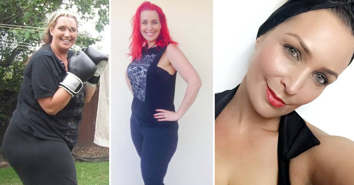 transformation.png?resize=1200,630 - Woman Loses 155 Lbs By Giving Up 4 Foods